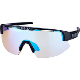 Bliz Matrix Small Nano Optics Nordic Light Glasses, matte black/dark grey/jawbone orange/blue multi nordic light